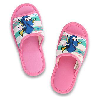 Zapatillas infantiles con apertura en los dedos Dory de De Fonseca