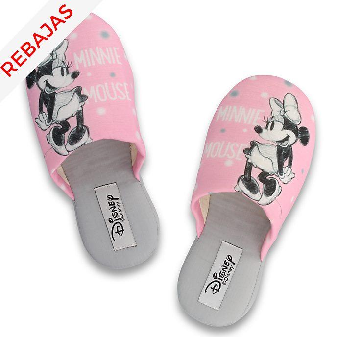 43d640d777e Zapatillas rosas Minnie Mouse para adultos, De Fonseca