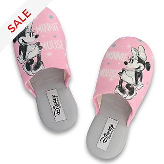 De Fonseca - Minnie Maus - Hausschuhe in pink für Erwachsene