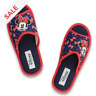 De Fonseca Minnie Mouse Blue Open Toe Slippers For Adults