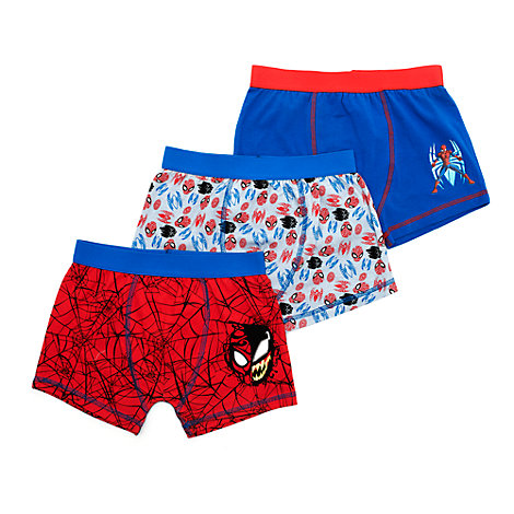 Spider-Man Boxer Shorts for Kids, Pack of 3