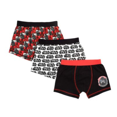 Star Wars: The Force Awakens Boxer Shorts for Kids, Pack of 3