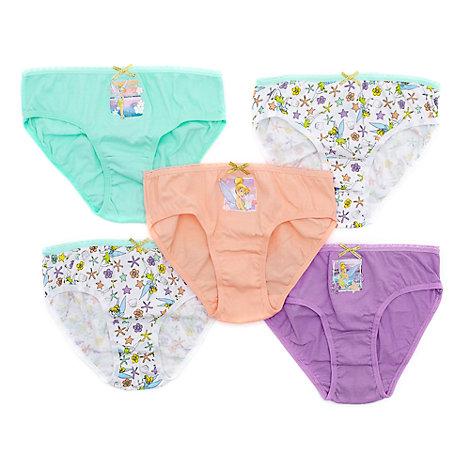 Tinkerbell Slips für Kinder, 5er-Pack