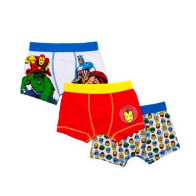 Avengers Boxer Shorts For Kids, Pack of 3