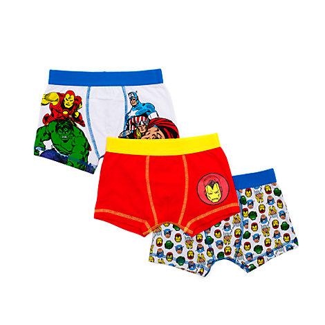 The Avengers – Boxershorts für Kinder, 3er-Pack