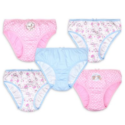 Marie Briefs for Kids, Pack of 5
