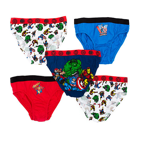 Avengers Briefs for Kids, Pack of 5
