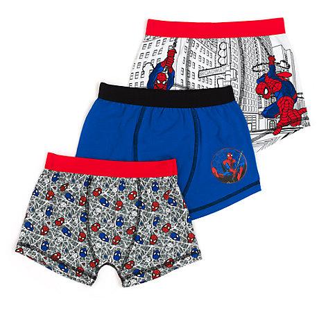Spider-Man: Homecoming boksershorts til børn, 3-pak