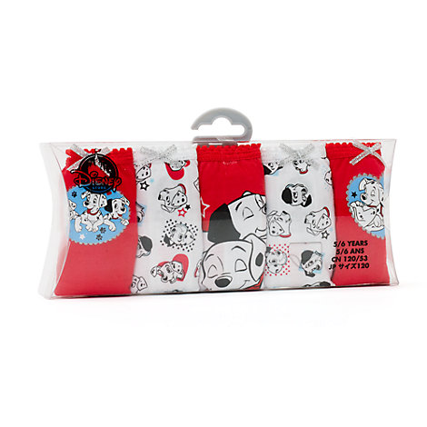5 x 101 Dalmatiner Slips für Kinder