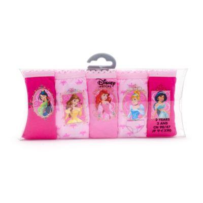 Disney Prinzessin - Slips für Kinder, 5er-Pack