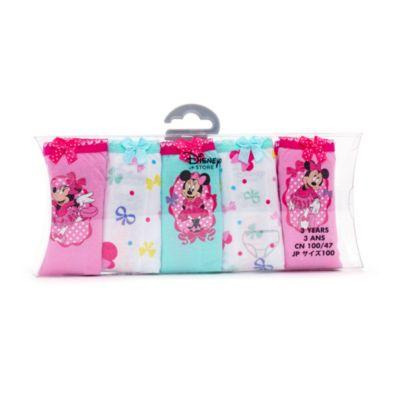 Ensemble de 5 culottes pour enfants Minnie Mouse