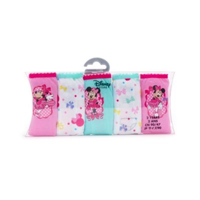 Minnie Mouse Briefs For Kids, Pack of 5