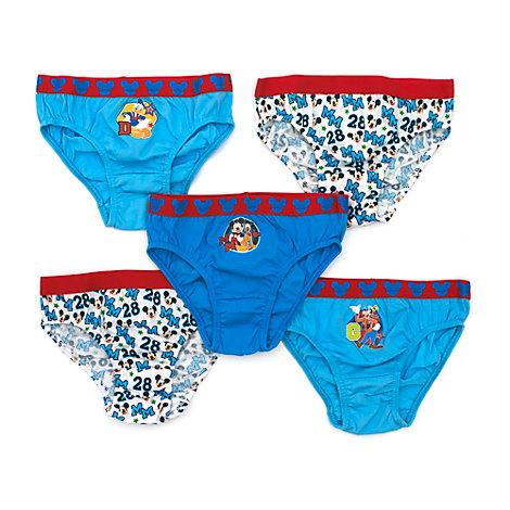 Micky Maus - Slips für Kinder, 5er-Pack