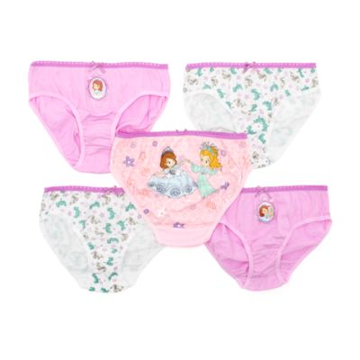Sofia The First Briefs, Pack Of 5