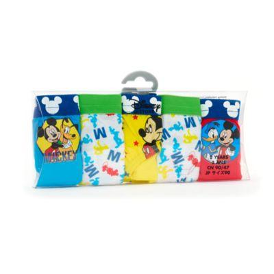 Ensemble de 5 slips Mickey Mouse pour enfants