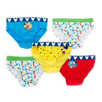 Mickey Mouse Briefs for Kids, Pack of 5