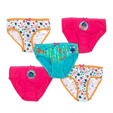 Lot de 5 culottes pour enfants Le Monde de Dory