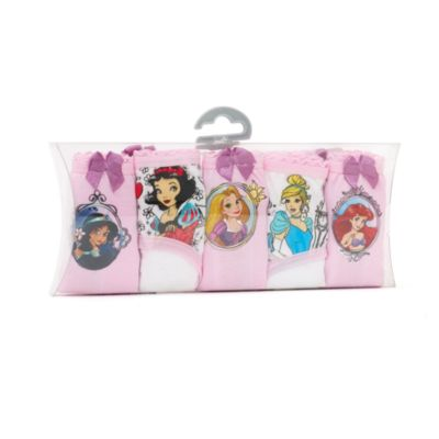 Disney Prinsesse trusser til børn, 5-pak