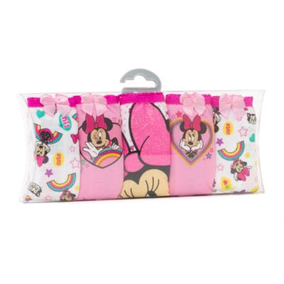 Ensemble de 5 culottes Minnie Mouse pour enfants
