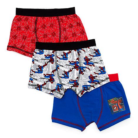 Spider-Man - Boxershorts für Kinder, 3er-Pack