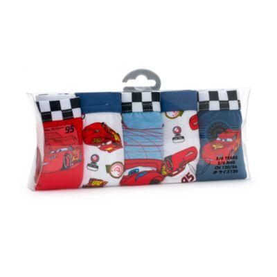 Mutandine bimbi Disney Pixar Cars, confezione da 5