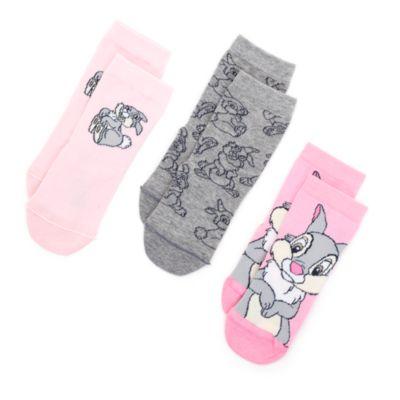 Thumper Socks For Kids, 3 Pairs