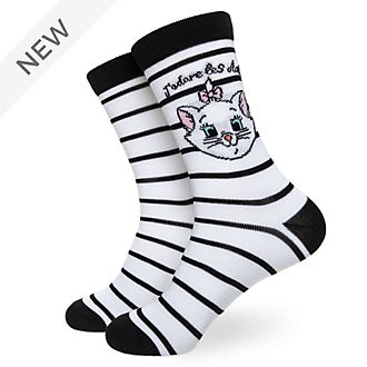 Disney Store Marie Socks For Adults, 1 Pair