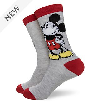 Disney Store Mickey Mouse Alphabet Socks For Adults, 1 Pair