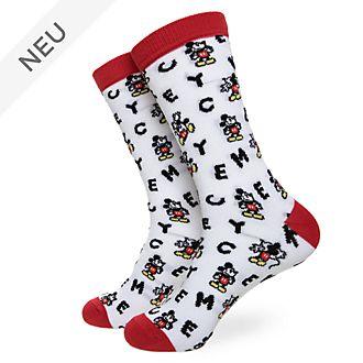 Disney Store - Micky Maus - Socken für Erwachsene, 1Paar