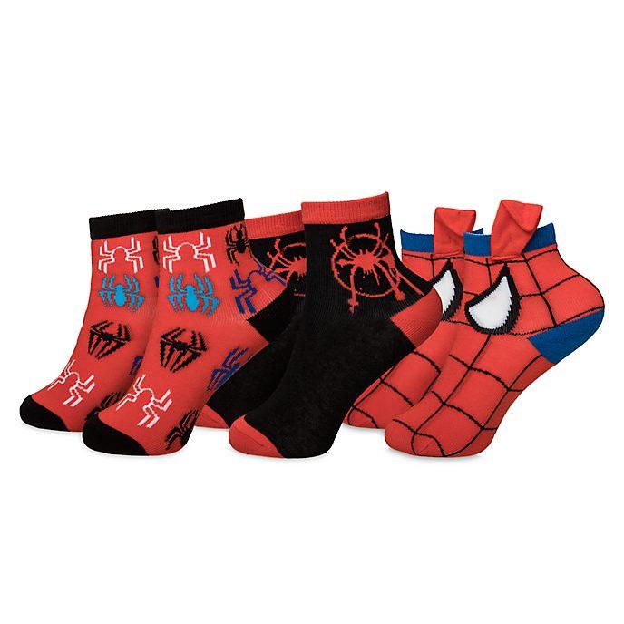 Spider-Man - Un nuovo universo Disney Store, 3 paia calzini bimbi