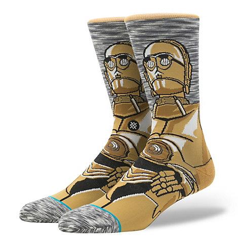 C-3PO Stance strømper til voksne, Star Wars