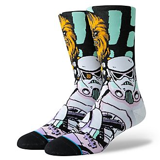 Stance Star Wars Warped Chewbacca Socks For Adults