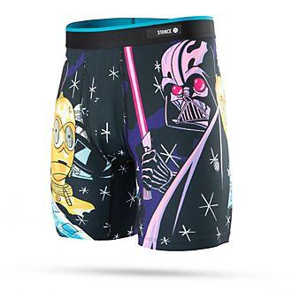Calzoncillos bóxer para hombre Darth Vader y R2-D2, Star Wars, Stance