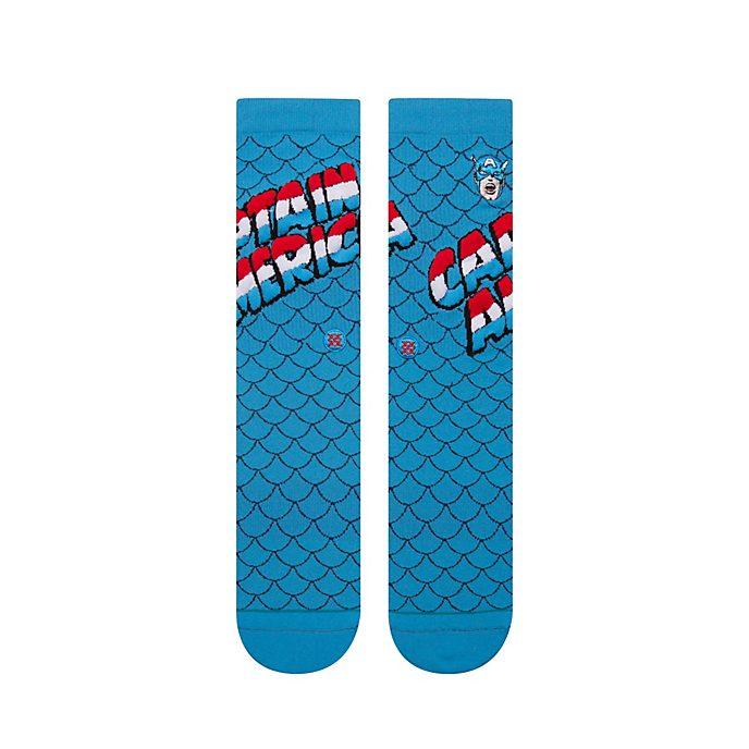 Stance - Marvel - Captain America - Blaue Socken für Erwachsene