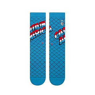 Stance Marvel Captain America Blue Socks For Adults