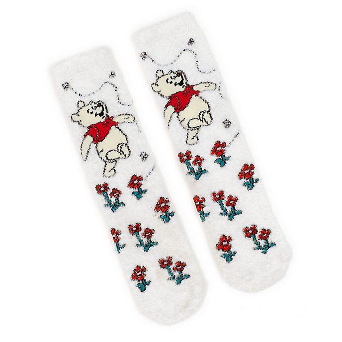 Disney Store Chaussettes douillettes Winnie l'Ourson pour adultes