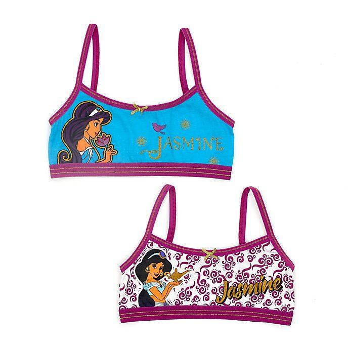 Disney Store Brassières Princesse Jasmine pour enfants, lot de 2