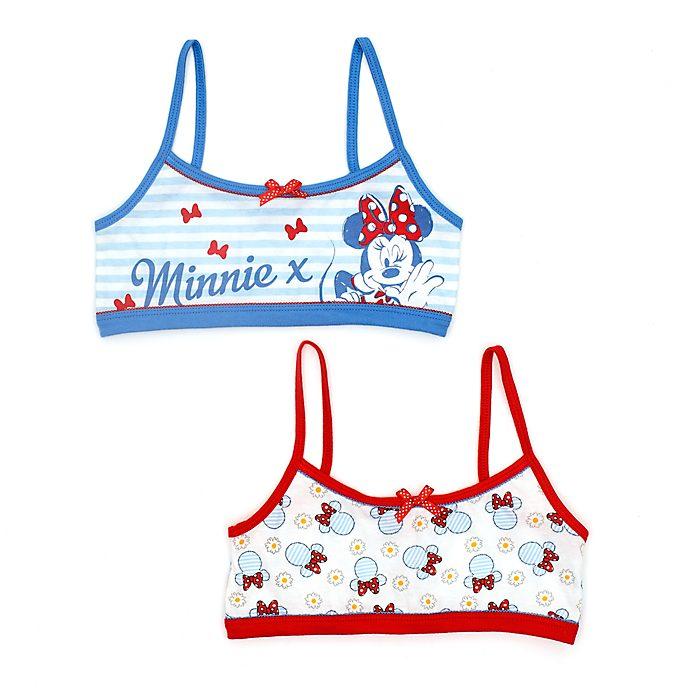 Bralettes infantiles Minnie Mouse, Disney Store (2u.)