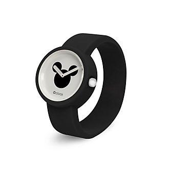 O Bag - O Clock - Micky Maus - schwarze Armbanduhr