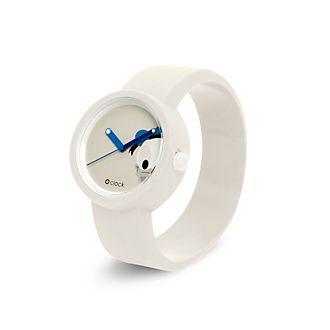 O Bag - O Clock - Donald Duck - weiße Armbanduhr
