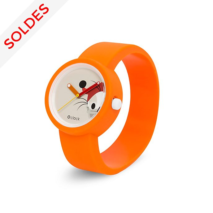 O bag Montre O clock Popop orange