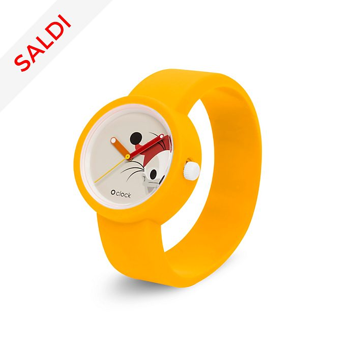 Orologio O Clock giallo Paperoga, O Bag