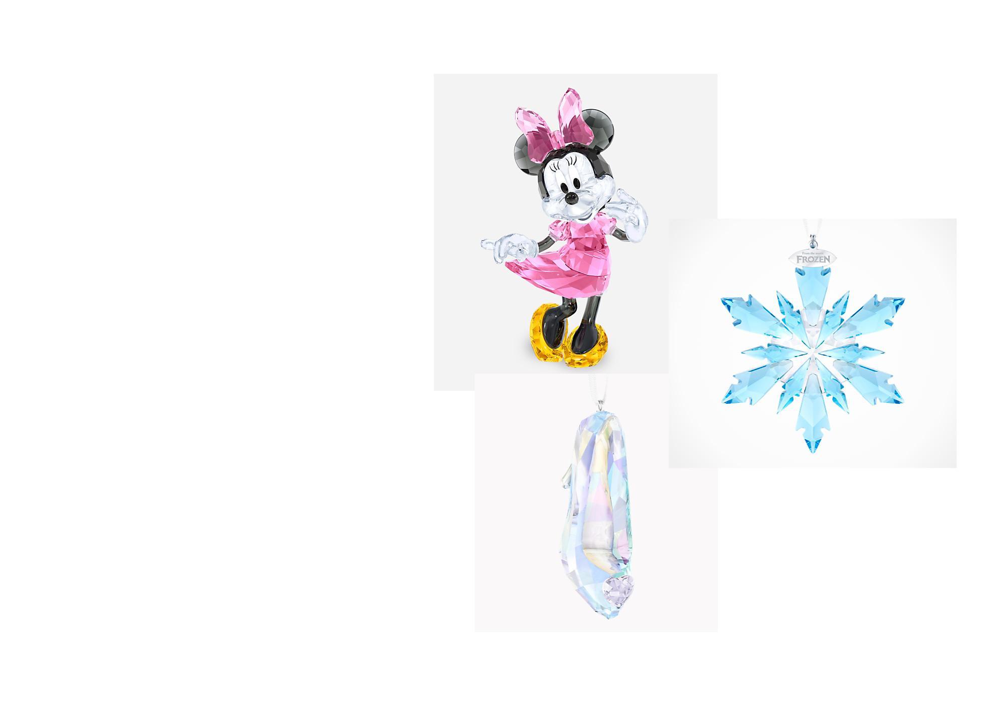 Créations en cristal Découvrez les magnifiques collections de figurines Disney en cristal Swarovski, de Mickey et ses amis aux princesses Disney !