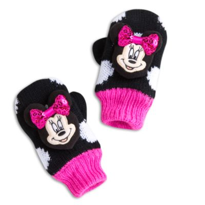 Minnie Mouse Mittens For Kids
