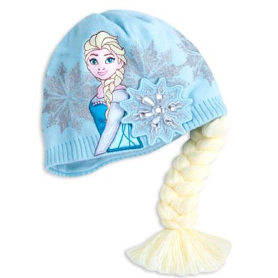 Frozen Elsa Beanie Hat For Kids