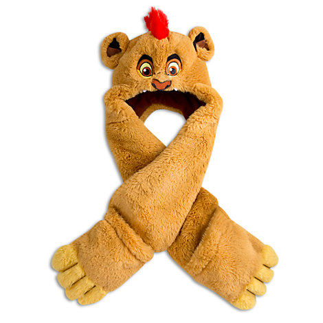 The Lion Guard All In One Hat And Scarf