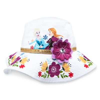 Chapeau de plage La Reine des Neiges pour enfants