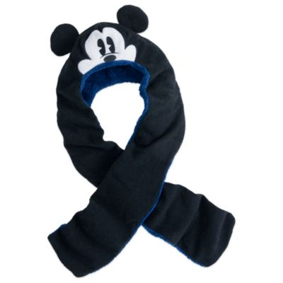 Mickey Mouse Hat and Scarf in One For Kids