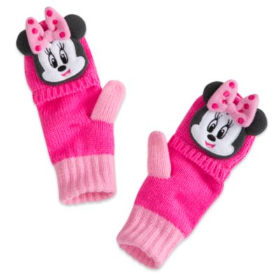 Minnie Mouse Gloves For Kids
