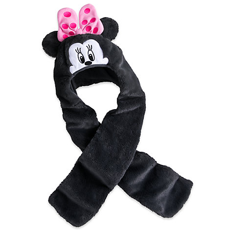 Minnie Mouse Hat and Scarf in One For Kids